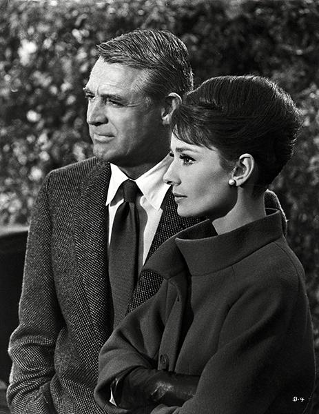 Charade Cary Grant Audrey Hepburn