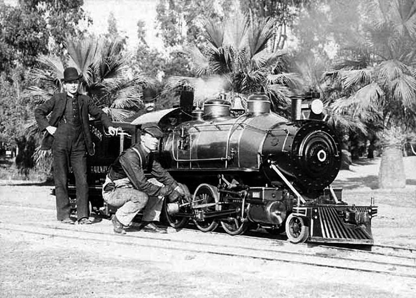 Eastlake Park Railway 1905