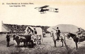 Ezra Meeker Los Angeles Air Meet 1910