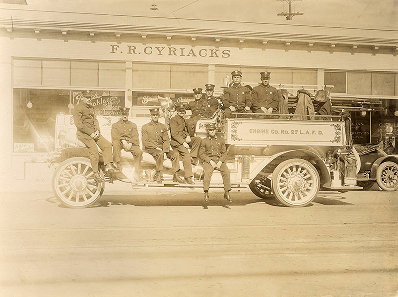 LAFD Fire Engine Truck 1913