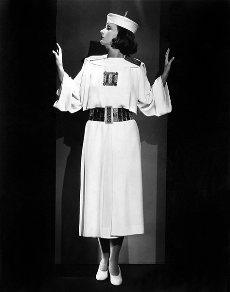 """""""Dresses. I wish they were all bags and all alike, to jump into quick."""" -- Greta Garbo (Bizarre Los Angeles)"""