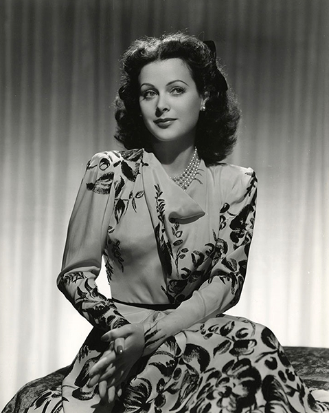 """I've never played a really strong part before. I may look like a leading lady, but I believe I'm a capable character actress."" -- Hedy Lamarr (Bizarre Los Angeles)"