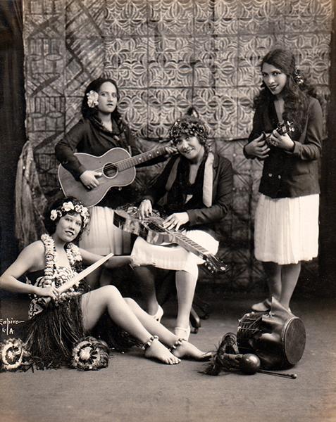 Hula Girls 1928