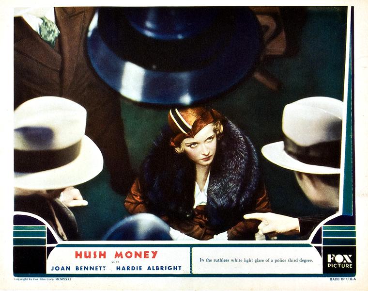 Hush Money 1931