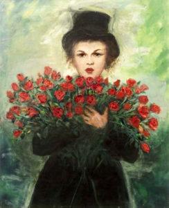 Judy garland Painting