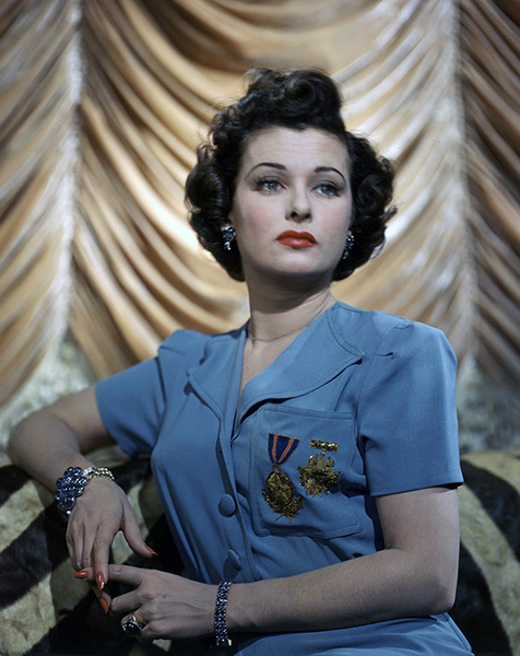 """My film career faded. A man can go on playing certain roles 'til he's sixty. But not a woman."" -- Joan Bennett (Bizarre Los Angeles)"