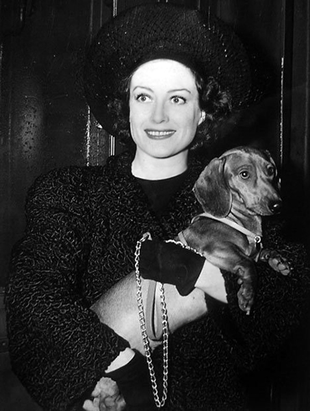 Joan Crawford dog
