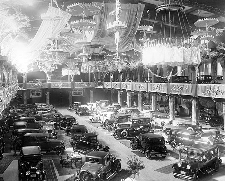 Los Angeles Auto Show 1930