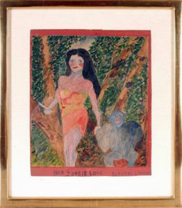 Dorothy Lamour painting