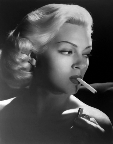 """They have Lana Turner painted as - well, she's crazy! And I don't think she is."" -- Lana Turner (Bizarre Los Angeles)"
