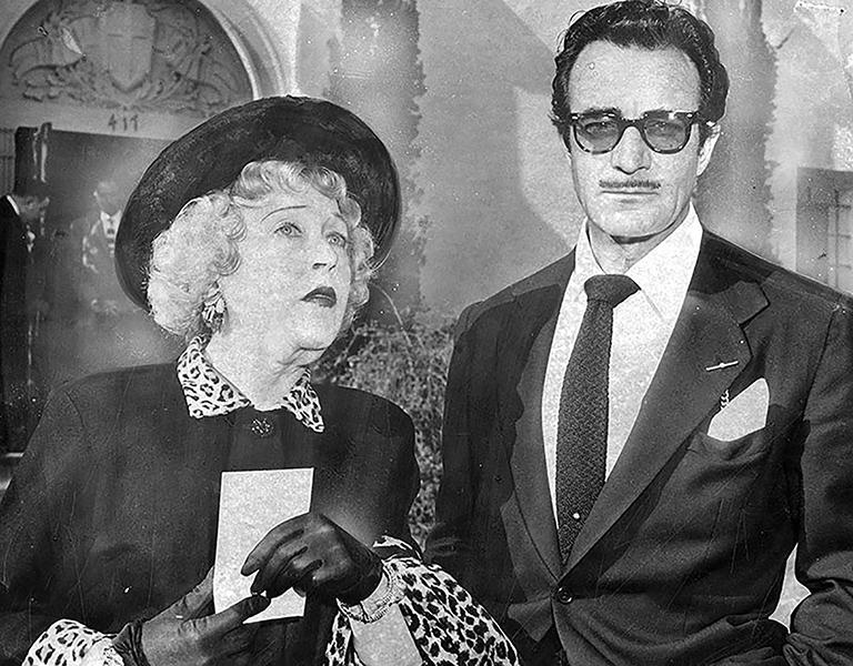 Mae Murray Gilbert Roland 1957
