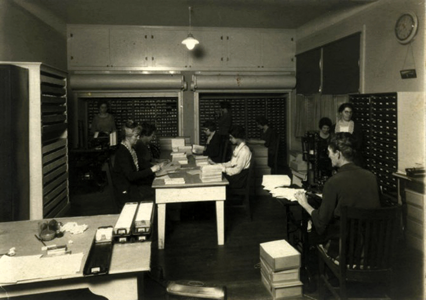 Glendale office 1922