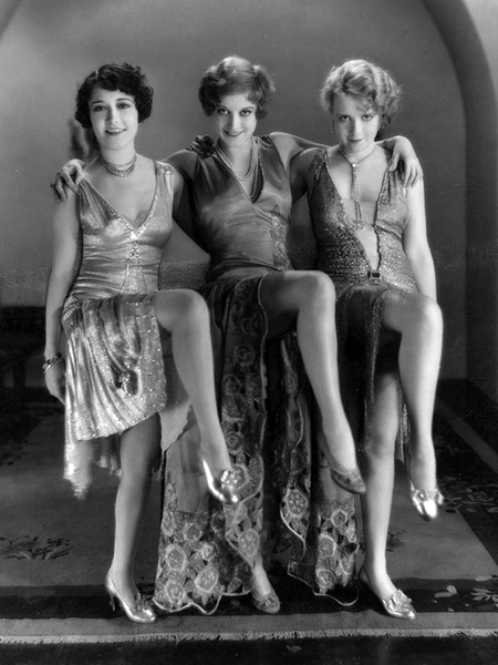 Our Dancing Daughters (1928). With Dorothy Sebastian, Joan Crawford and Anita Page. (Bizarre Los Angeles)