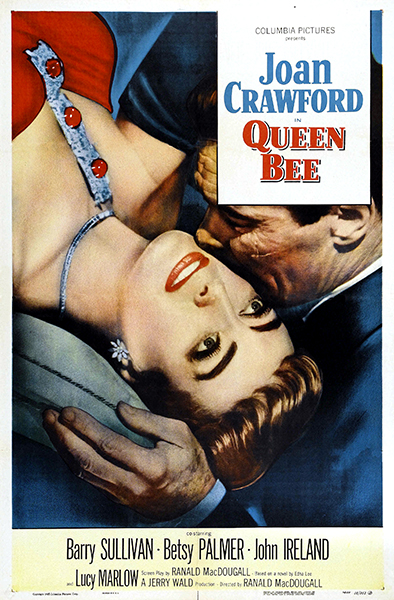 Queen Bee starring Joan Crawford and Barry Sullivan. (Bizarre Los Angeles)