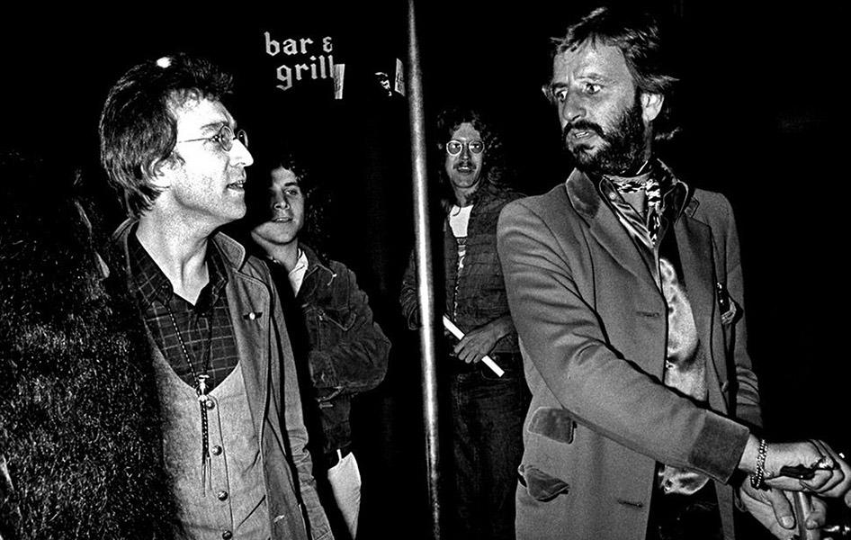 John Lennon Ringo Starr
