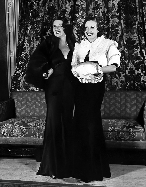 Norma Shearer Joan Crawford