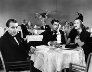 Ralph Bellamy Cary Grant Irene Dunne The Awful Truth 1937