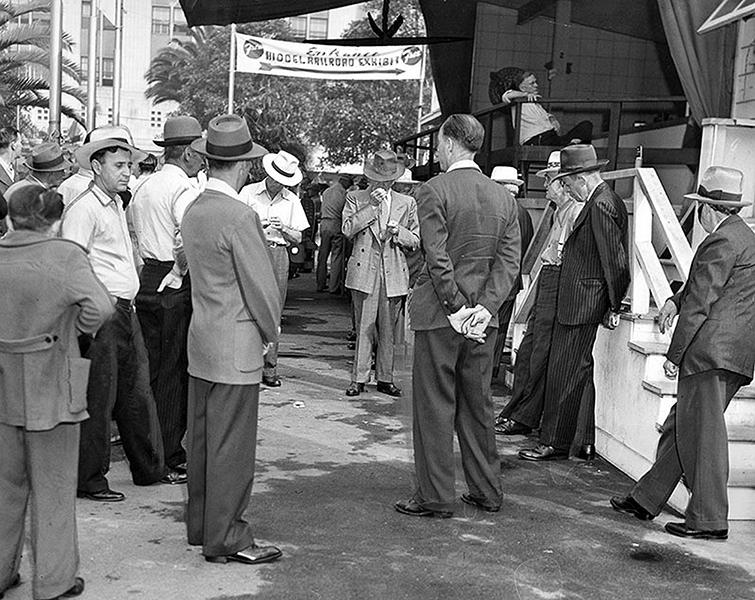 VJ-day 1945 Pershing Square