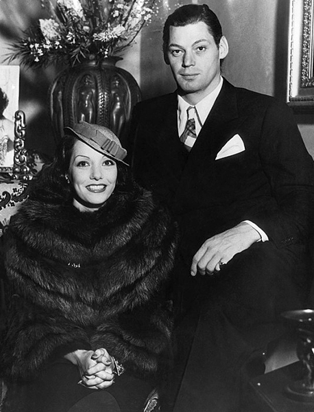 """Eets everybody's beezness when you marry. You talk loud at home - they say you have a fight. You fight - they say you keel him."" -- Lupe Vélez (with husband Johhny Weissmuller) Bizarre Los Angeles"