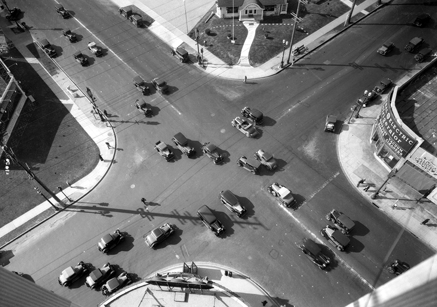 Wilshire and Western 1933
