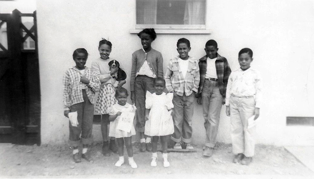 African-American children Los Angeles