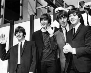 Beatles LAX Ringo Starr John Lennon George Harrison Paul McCartney