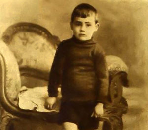 Cary Grant at Age 4. (Bizarre Los Angeles)