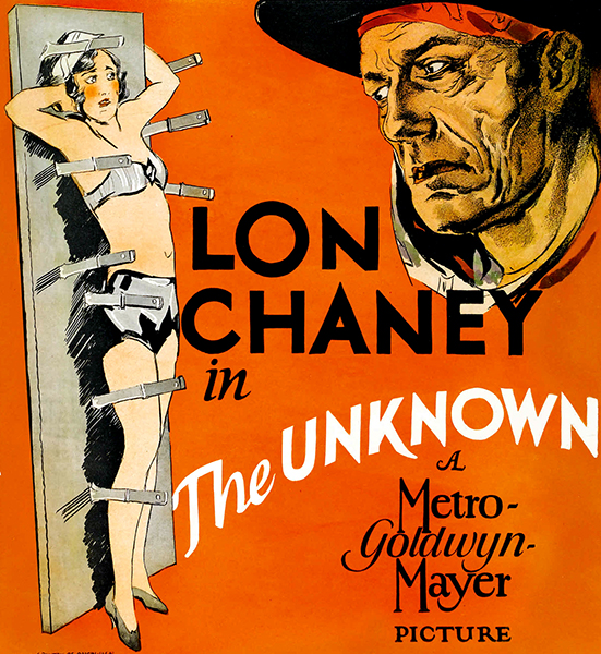 The Unknown Joan Crawford Lon Chaney