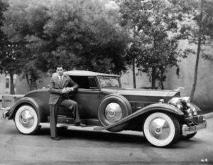 Clark Gable Packard
