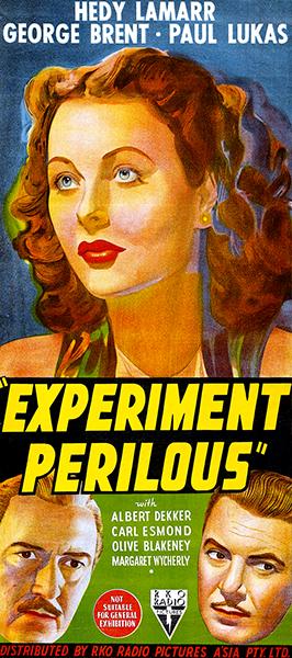Experiment Perilous Hedy Lamarr George Brent