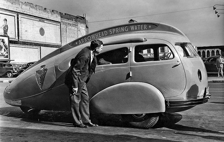 Arrowhead water car 1930s