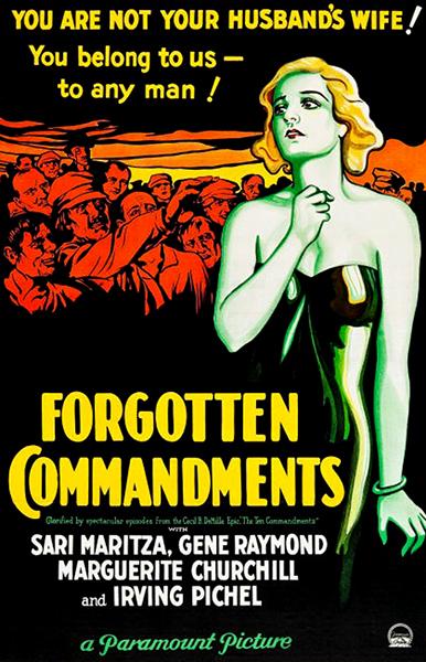 Forgotten Commandments (1931)