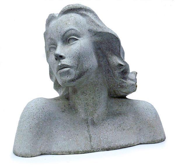 Hedy Lamarr bust sculpture