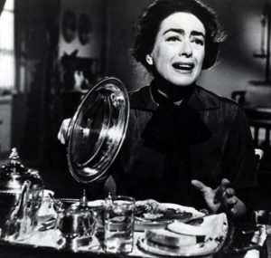"""""""I'm not a calorie counter, but when I discover that something isn't good for me, I make myself dislike it."""" – Joan Crawford Source: Lydia Lane's interview with Crawford in 1959."""
