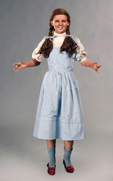 Judy Garland Wax Zombie