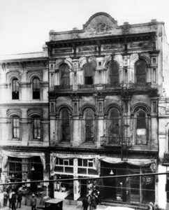 The Merced Theatre (420 N. Main St.) around 1915. LAPL 00015404. Bizarre Los Angeles