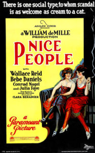 Nice People Bebe Daniels Julia Faye