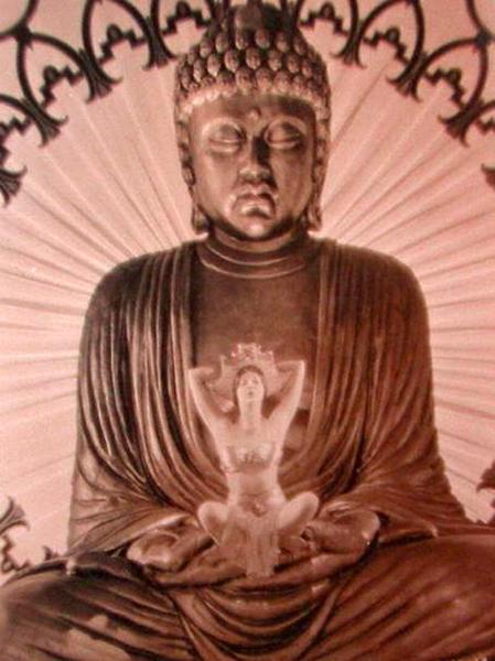 Barbara La Marr Buddha