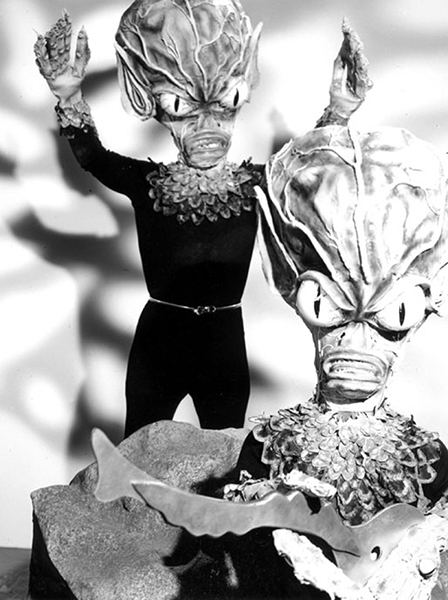 Invasion of the Saucer Men (1957). Bizarre Los Angeles