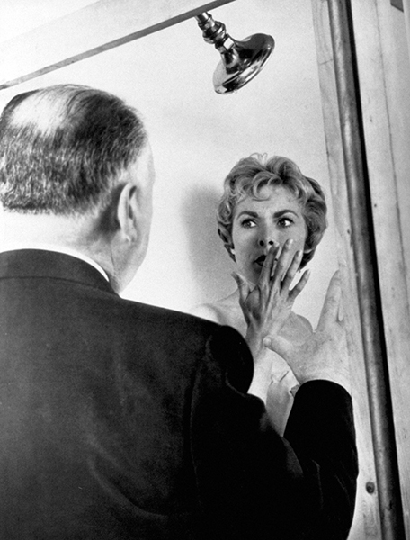 Janet Leigh Alfred Hitchcock Psycho