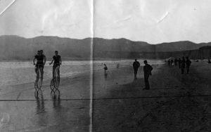 Santa Monica Beach 1887