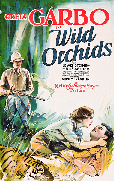 Wild Orchids Nils Asther Greta Garbo Lewis Stone