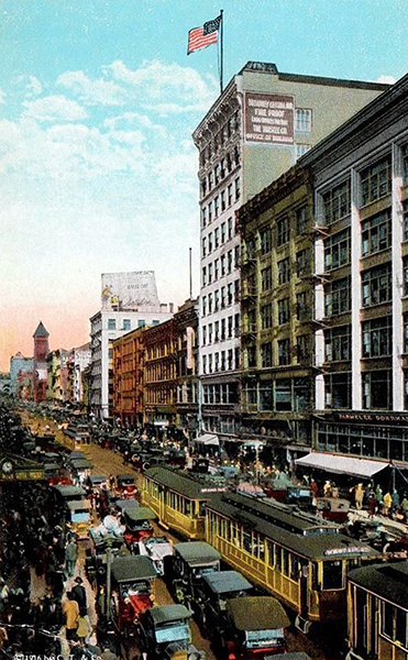Broadway 1916