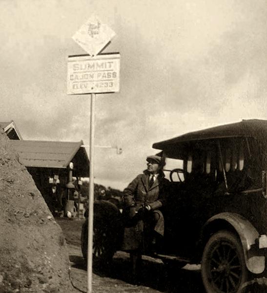 Cajon Pass 1918