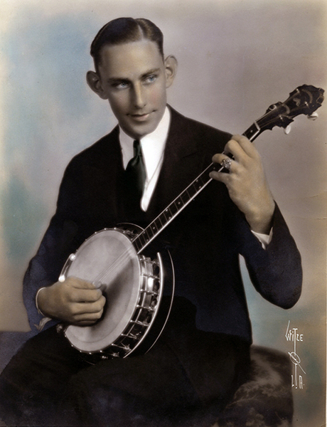 Banjo Player Witzel