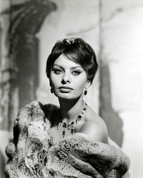 """My character is my best feature."" – Sophia Loren (Bizarre Los Angeles)"
