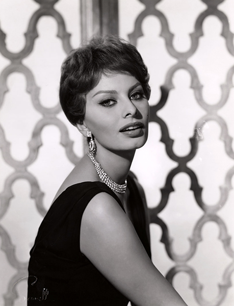 """""""Many people think they want things, but they don't really have the strength, the discipline. They are weak. I believe that you get what you want if you want it badly enough."""" – Sophia Loren (Bizarre Los Angeles)"""