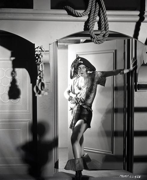 Joan Crawford pirate