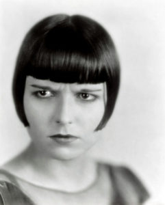 Louise Brooks frown
