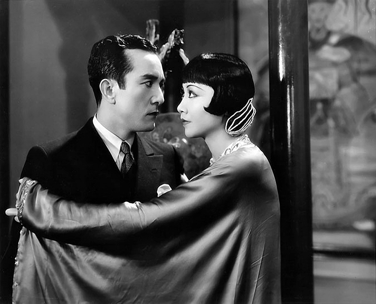 "Sessue Hayakawa and Anna May Wong in ""Daughter of the Dragon"" (1931). Bizarre Los Angeles"